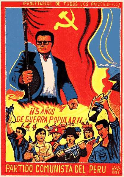 Partido Comunista del Perú - Sendero Luminoso Shiningpathfiveyears