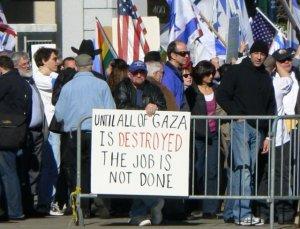 destroy-gaza-placard